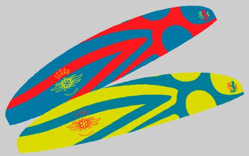 Цветовые решения парарплана ICARO BUTEO XC